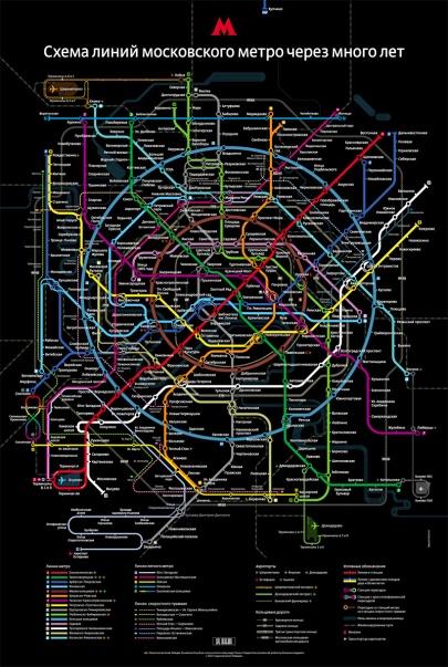 Moscow Future Metro