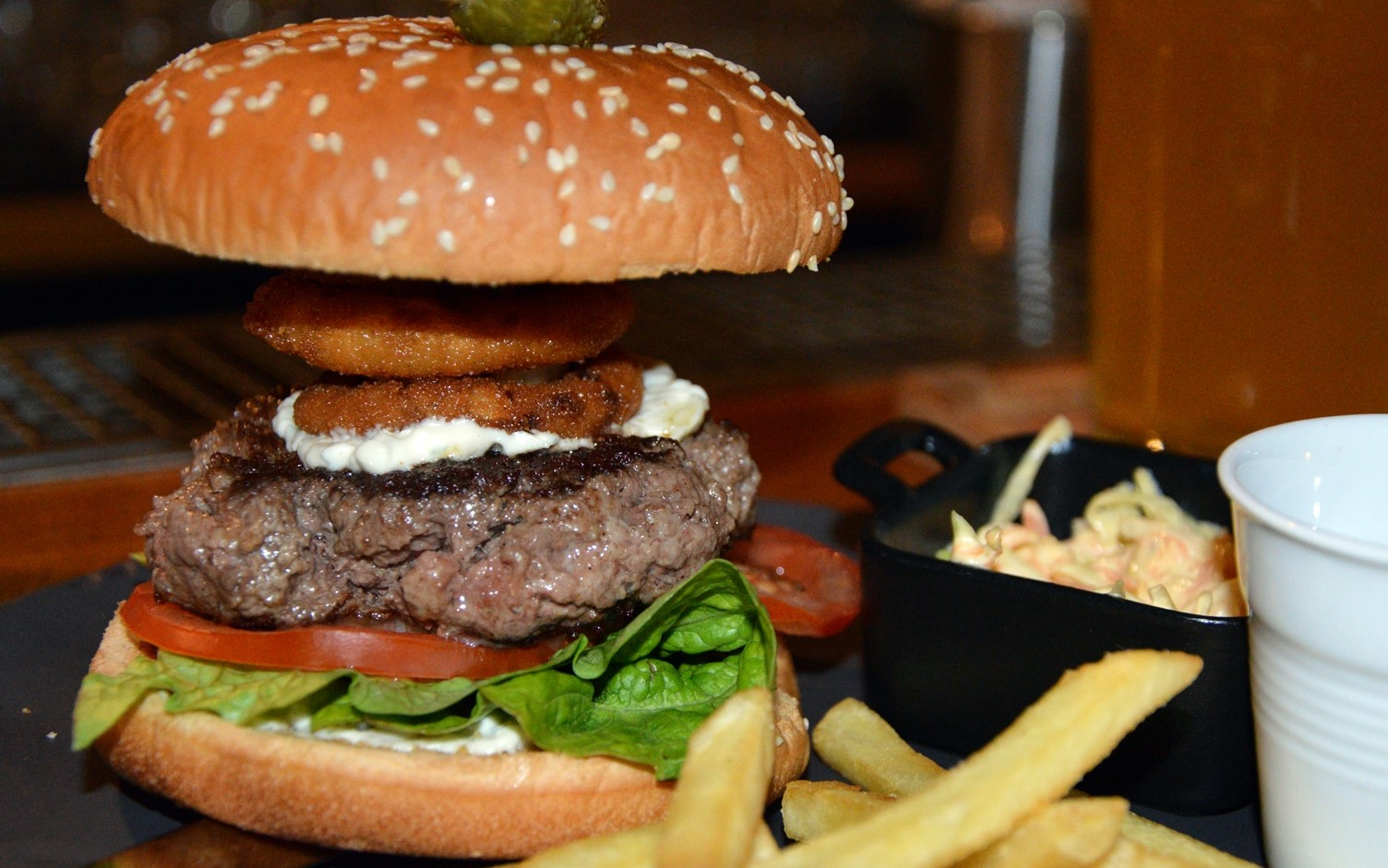 Where are the best burgers in Moscow: a review of institutions 42